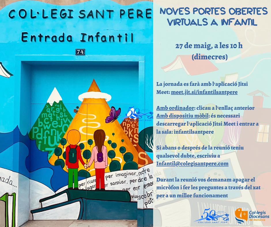 27 de maig. Nova jornada de portes obertes a infantil