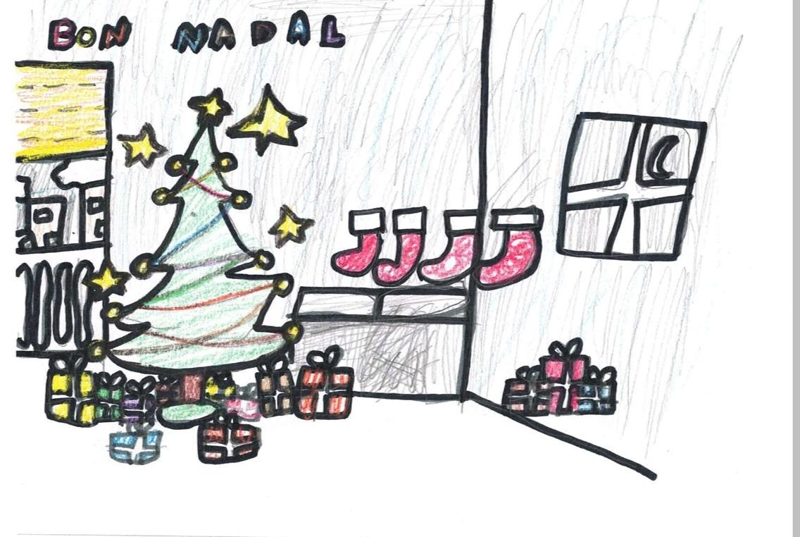 Postal i poesia nadalenca